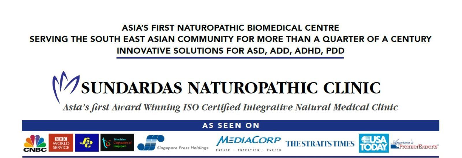 Autism Singapore – Sundardas Naturopathic Clinic